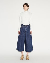 Kapital Denim Hakama Pants Blue