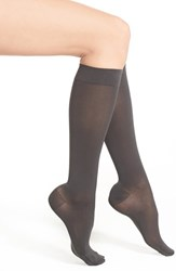 Women's Insignia By Sigvaris 'Headliner' Graduated Compression Knee High Socks Graphite