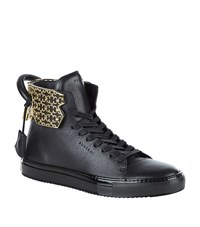 Buscemi 125Mm Cage Handle High Top Sneaker Male Black