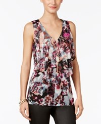 Thalia Sodi Cutout Back Necklace Top Only At Macy's Floral Multi