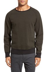 Billy Reid Men's Dawson Crewneck Cotton Sweater