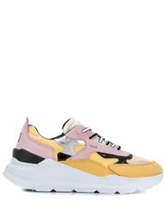 D.A.T.E. Chunky Sole Panelled Sneakers 60