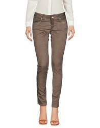 Entre Amis Casual Pants Light Brown