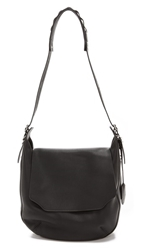 Rag And Bone Bradbury Flap Hobo Black