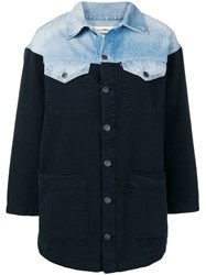 Levi's Made And Crafted Cowgirl Mix Up Shirt Blue