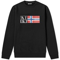 Napapijri Benoos Crew Sweat Black
