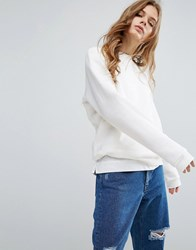 Bethnals Nicholas Luxe Sweat Off White