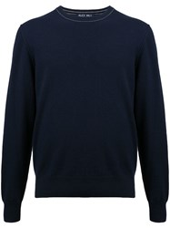 Alex Mill Cashmere Reverse Sweater Grey