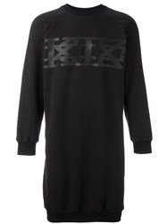 Ktz Long Big Logo Sweatshirt Black