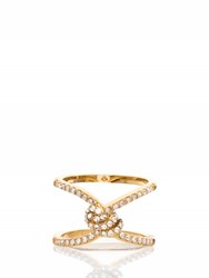 Kate Spade Infinity And Beyond Pave Knot Ring