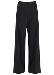 Whistles Nao Black Wide Leg Trousers