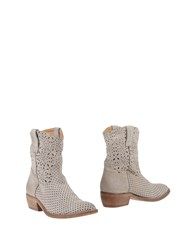 Catarina Martins Ankle Boots Light Grey