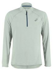 Asics Sports Shirt Eucalyptus Heather Green