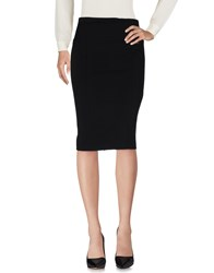 Carla Montanarini 3 4 Length Skirts Black