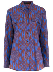 Andrea Marques Printed Shirt Multicolour