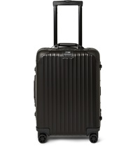 Rimowa Topas Stealth Cabin Aluminum 55Cm Carry On Case Black