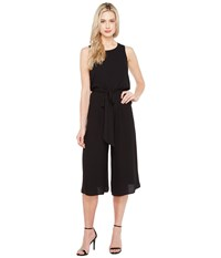 Vince Camuto Sleeveless Wide Leg Jumpsuit Black Women's Jumpsuit And Rompers One Piece