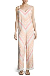 Eci Stripe Jumpsuit Multi