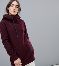 Volcom Riding Hoodie In Red
