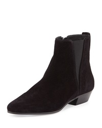Isabel Marant Patsha Suede Point Toe Bootie