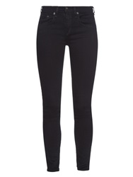 Rag And Bone Coal High Rise Skinny Jeans