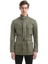 Belstaff Roadmaster Waxed Cotton Field Jacket
