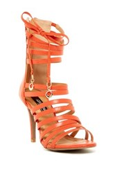 Elegant Footwear Lilly Strappy Sandal Orange