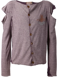 Vivienne Westwood 'Nut' Cardigan Pink And Purple