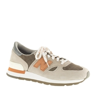 New Balance For J.Crew 990 Sneakers In Cobblestone