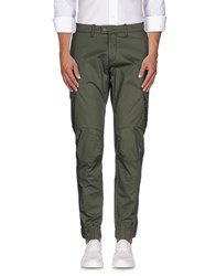 H Sio Trousers Casual Trousers Men Green