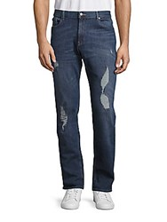 Michael Kors Distressed Tailored Fit Pants Sag Harbor