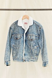 Urban Renewal Vintage Levi's Acid Wash Sherpa Jacket Assorted
