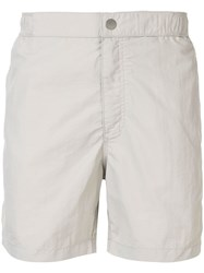 Venroy Side Stripe Swim Shorts Grey