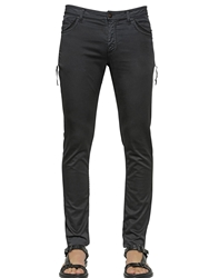 Tom Rebl 16Cm Stretch Cotton Denim Jeans Black