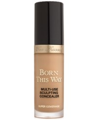 Too Faced Born This Way Super Coverage Multi Use Sculpting Concealer Honey Tan With Neutral Undertones