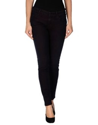 Koral Denim Pants Deep Purple