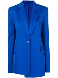 House Of Holland Tailored Blazer Blue