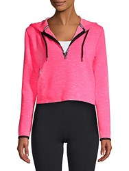 Superdry Gymtech Luxe Cropped Hoodie Pink