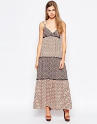 Kiss The Sky Ziggy Maxi Dress Print Multi