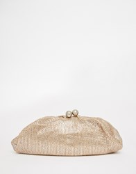 Oasis Bobble Clasp Clutch Bag Go1gold1
