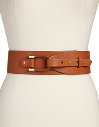 Lauren Ralph Lauren Wide Loop Belt Tan