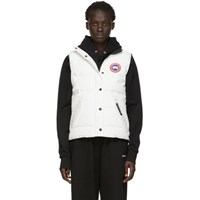 Canada Goose White Down Freestyle Vest