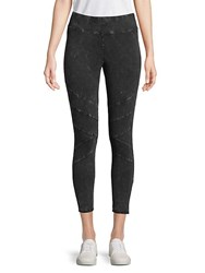 Marc New York Washed Cropped Leggings Black