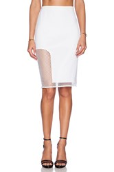 Style Stalker Getaway Pencil Skirt White