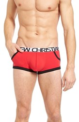 Andrew Christian Men's Retro Show It Boxer Briefs Red