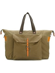 Ally Capellino 'Freddie' Weekend Bag Green