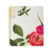 Kate Spade Large Spiral Notebook Floral
