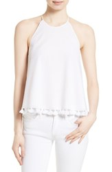 Tory Burch Women's Lindsay Tank White