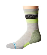Stance Meter Crew Grey Men's Crew Cut Socks Shoes Gray