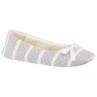 John Lewis Peppermint Slippers Blue